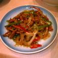 中華菜館 神岳  チンジャオロース(小皿)