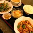 中華菜館 長安  今週の定食(その2)