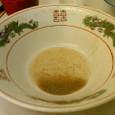 一竜軒 スープを飲み干す(笑)