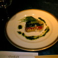 ガスライト 前菜 冬野菜のテリーヌ 春菊のビネグレット