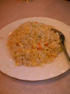 中華菜館 神岳  チャーハン