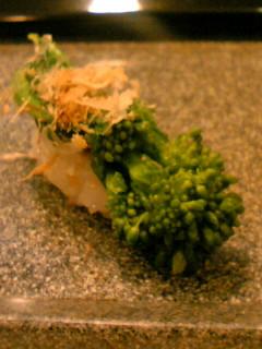 峯寿司 最後は菜の花