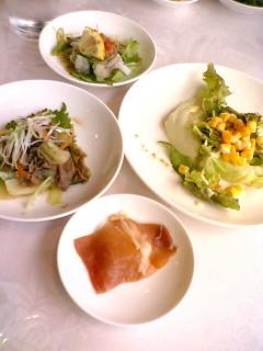 ナチュラルレストラン36 前菜&サラダ